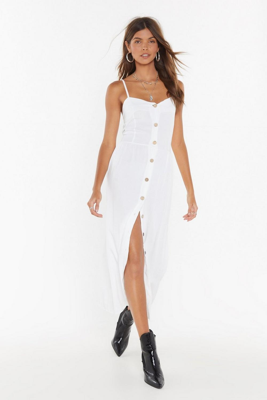b1334fde9ae2 Let the Sun Shine Button-Down Midi Dress   Shop Clothes at Nasty Gal!