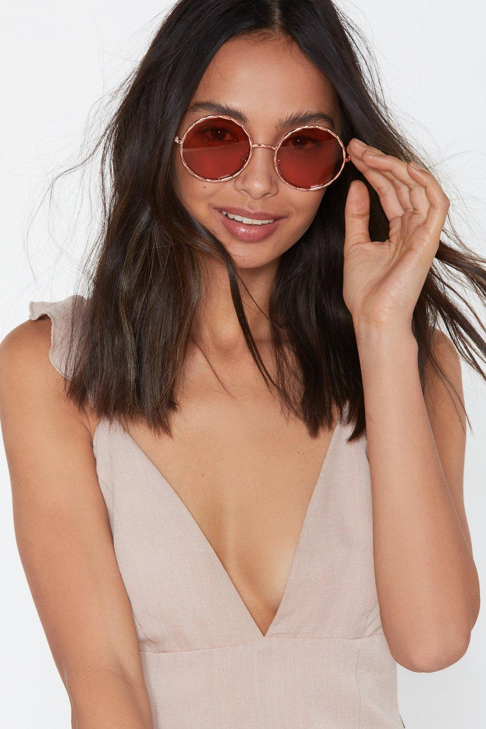 At Circle Clothes Oversized In SunglassesShop Nasty Gal QdeWCBxro