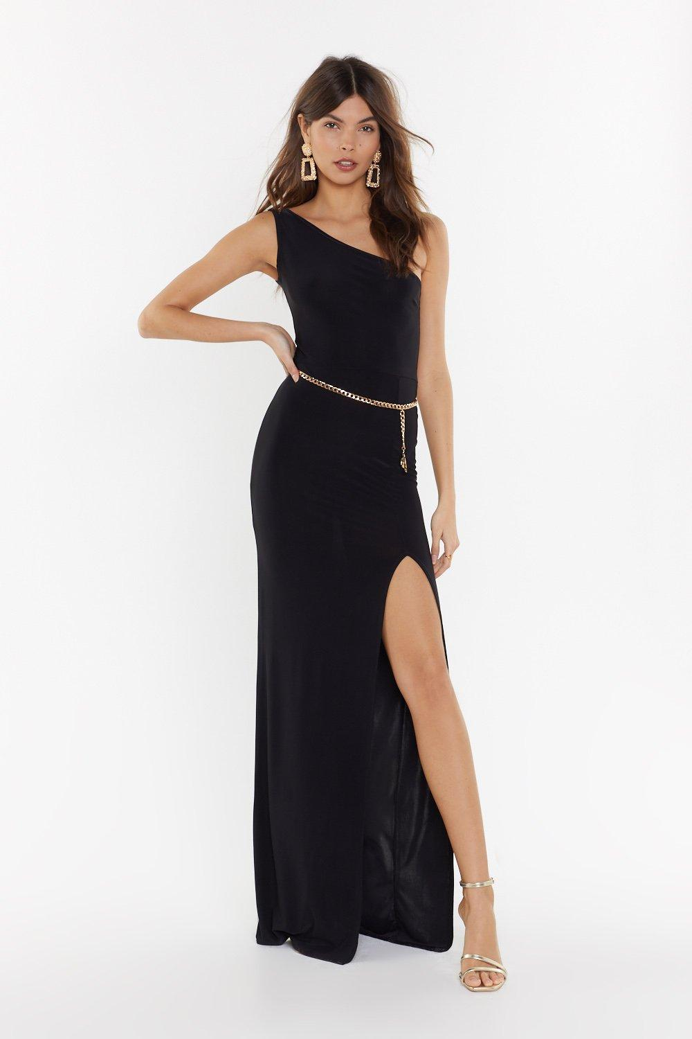 4411a54d92 Rise to the Occasion One Shoulder Maxi Dress | Shop Clothes at Nasty ...