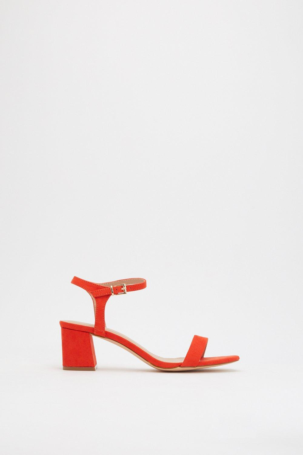 86499035fcde9 A Low It Flare Block Heel Sandals | Shop Clothes at Nasty Gal!