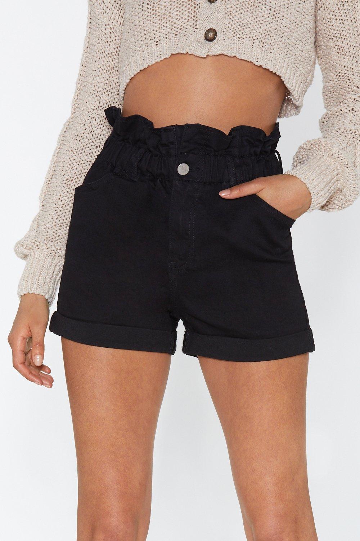 577ee266ea Make Haste Paperbag Denim Shorts | Shop Clothes at Nasty Gal!