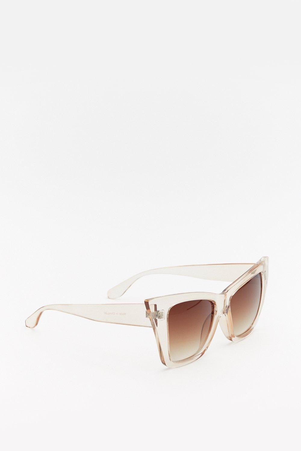 6ae3e58194bd Perspex Cat Eye Sunglasses | Shop Clothes at Nasty Gal!