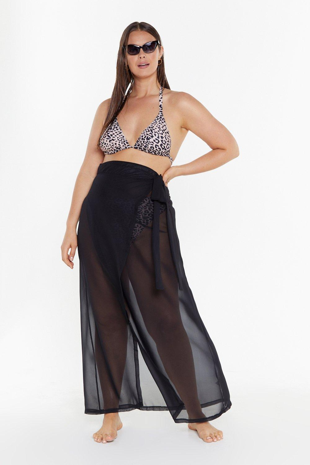 ffed61aaa53bb We'll Sea About That Chiffon Cover-Up Plus Skirt | Shop Clothes at ...