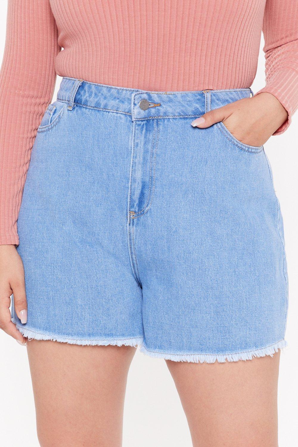 93a0f51d71 Raw Hem Denim Shorts | Shop Clothes at Nasty Gal!