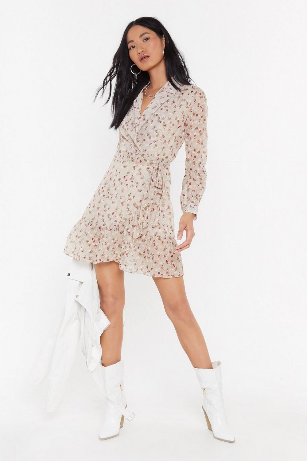 4be25ada98 Plant Be Stopped Floral Shirt Dress | Shop Clothes at Nasty Gal!