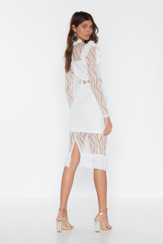 dd2ac589de6e Heartache Tonight Lace Midi Dress | Shop Clothes at Nasty Gal!