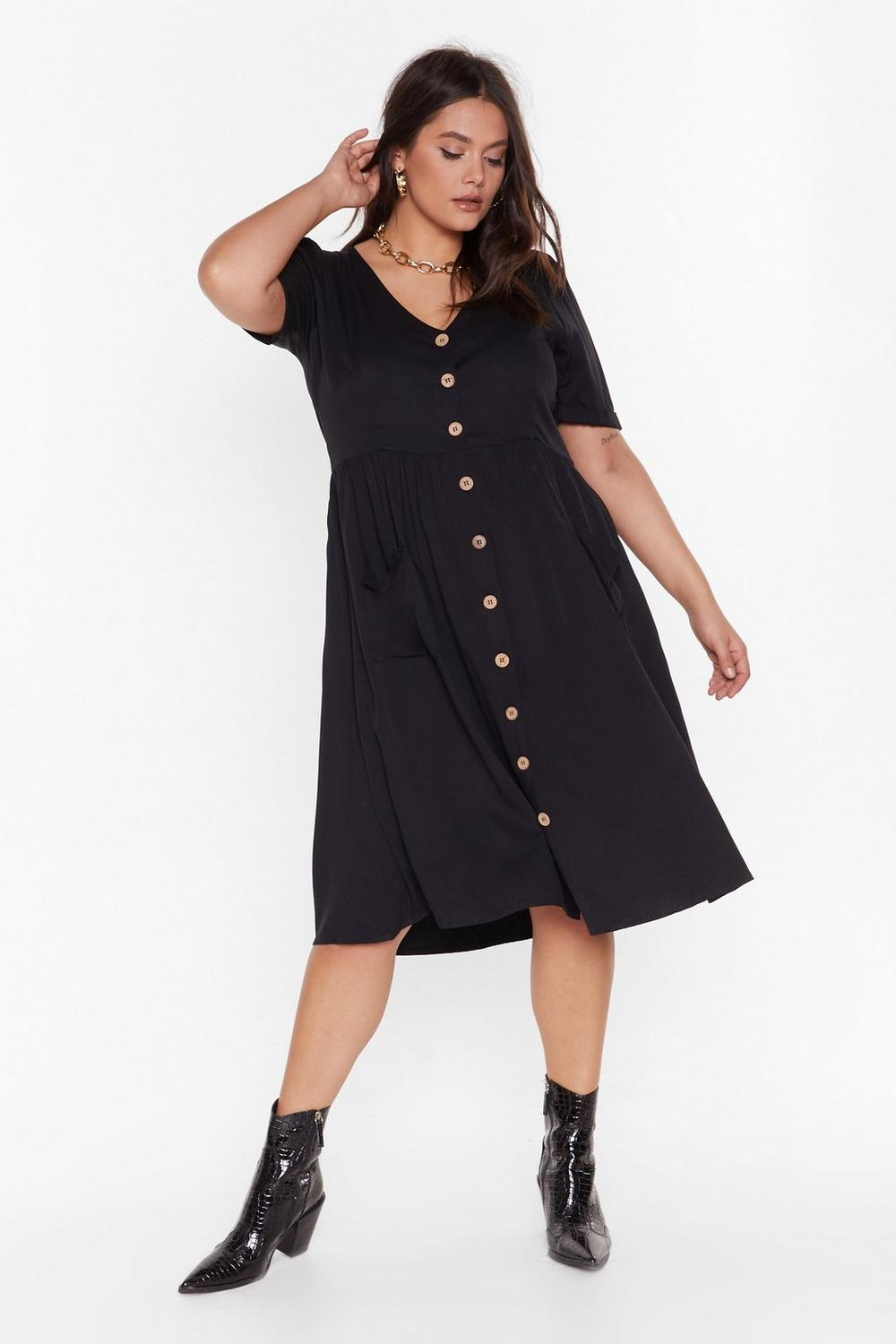 11fccde24278 MS Button Front Midi Smock Dress | Shop Clothes at Nasty Gal!