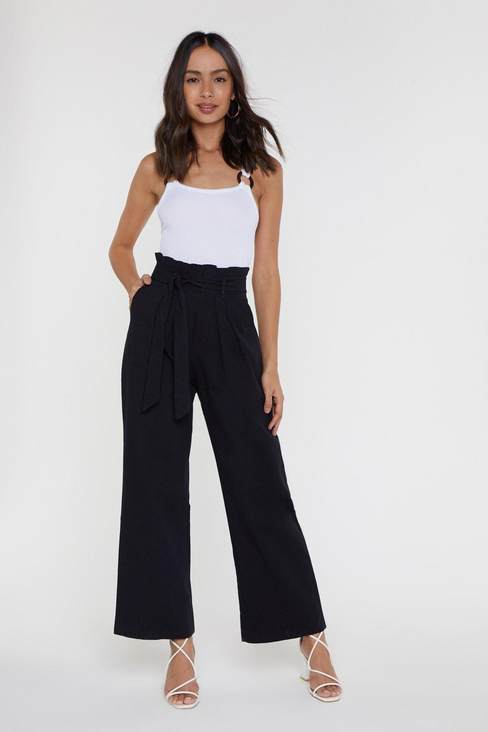 91ef691e99ede8 Carry It Off Paperbag High-Waisted Pants | Shop Clothes at Nasty Gal!