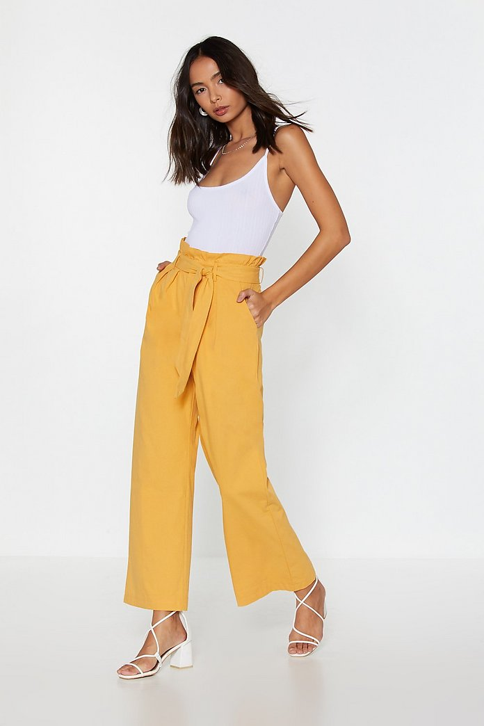 unbeatable price select for official factory Paperbag Trousers | Shop Clothes at Nasty Gal!