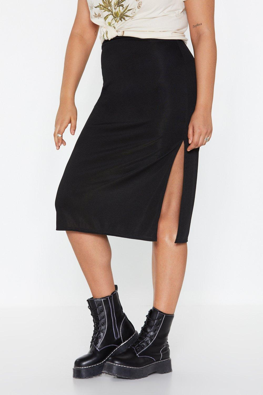 163edcbde776 Be Side Me Slit Midi Skirt | Shop Clothes at Nasty Gal!