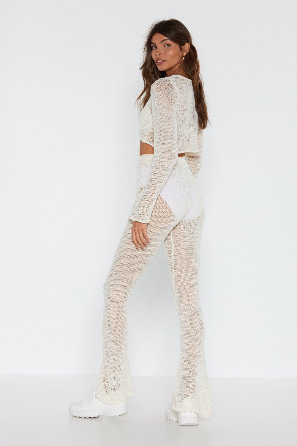 12e4188764 Catch of the Day Crochet Crop Top and Pants Set | Shop Clothes at ...