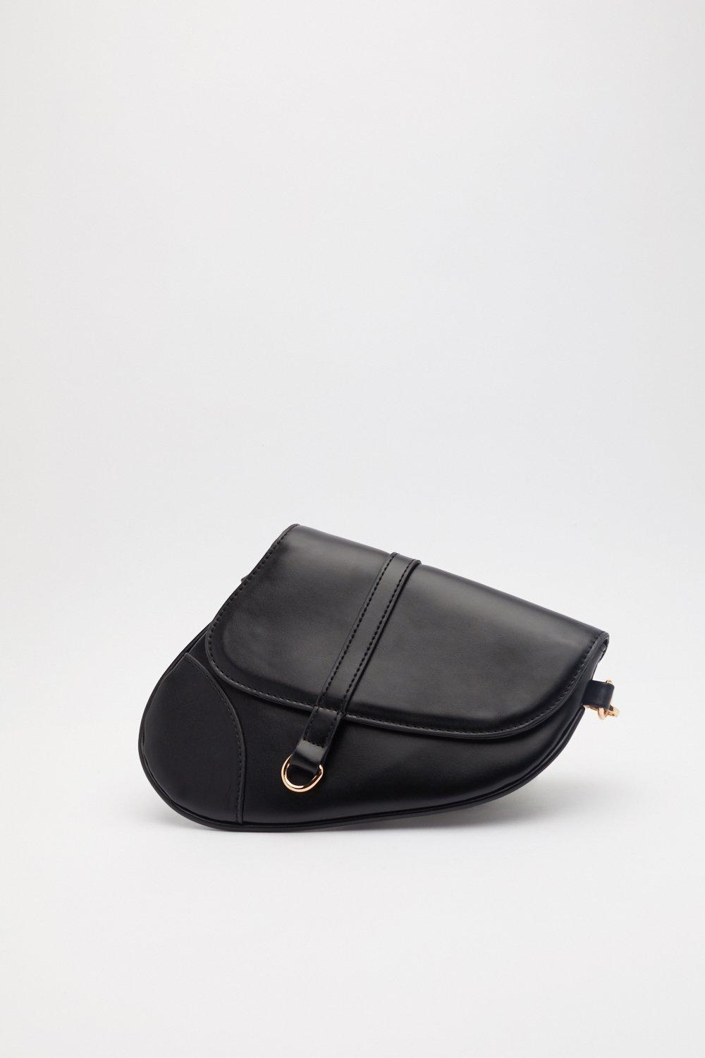 bf682140d65e25 WANT Side Saddle Faux Leather Bag | Shop Clothes at Nasty Gal!
