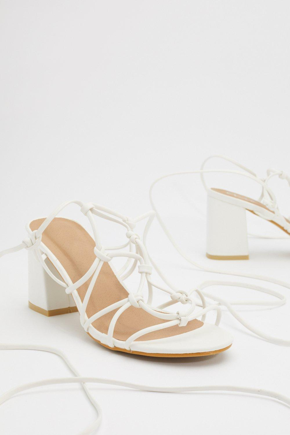 c4a32762aa PU Block Heel Strappy Sandal | Shop Clothes at Nasty Gal!