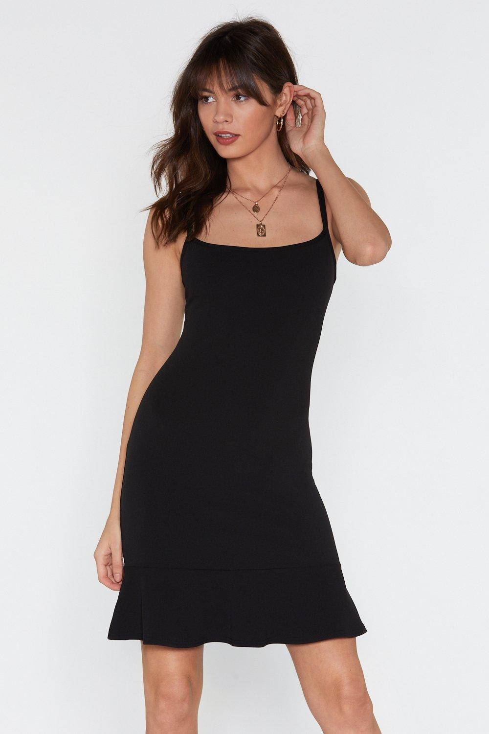 233926a75fe Flip 'Em Off Scuba Mini Dress | Shop Clothes at Nasty Gal!