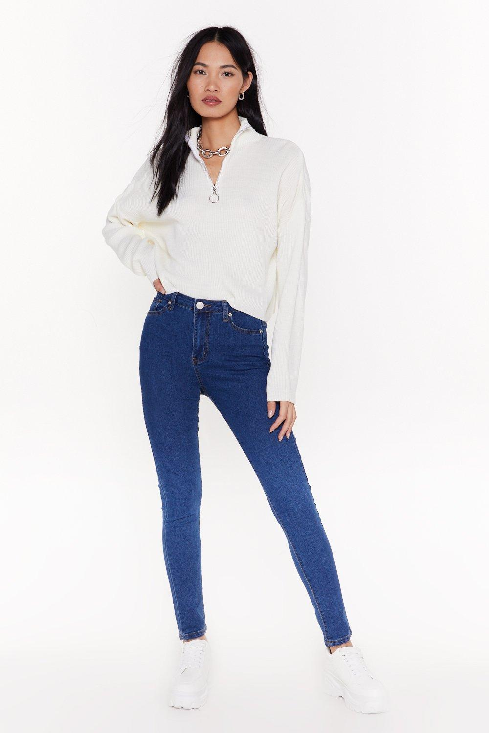 5cc4c908820 Treat 'Em Tight High-Waisted Skinny Jeans | Shop Clothes at Nasty Gal!
