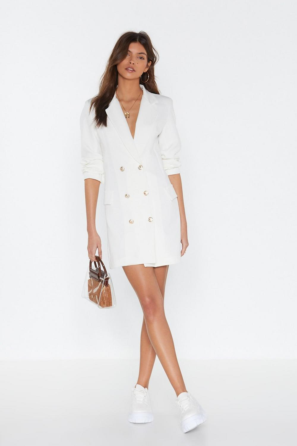 462d59af6a421 Own It Double Breasted Blazer Dress | Shop Clothes at Nasty Gal!