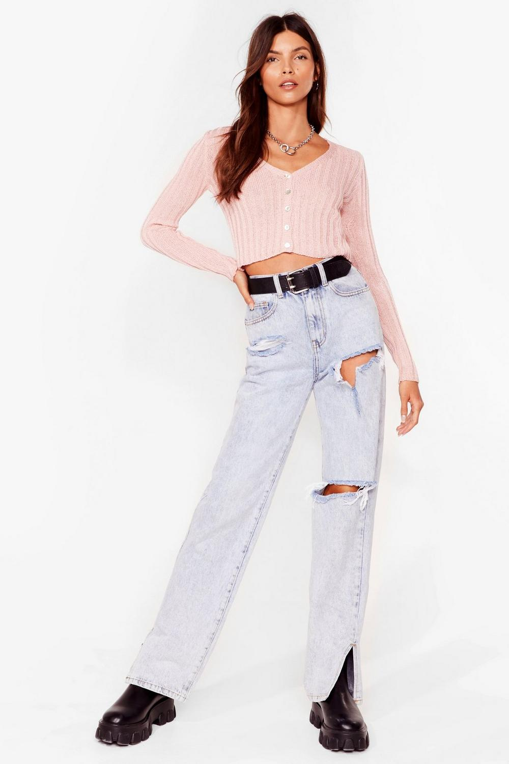 c270daed9 No Chills Cropped Button-Down Cardigan   Shop Clothes at Nasty Gal!