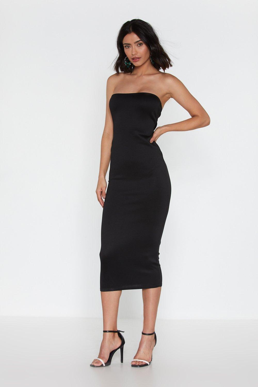 5656f264407b Body Talk Strapless Midi Dress | Shop Clothes at Nasty Gal!
