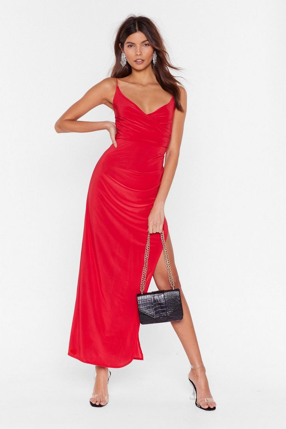 f736056441 Hot Date Wrap Maxi Dress | Shop Clothes at Nasty Gal!