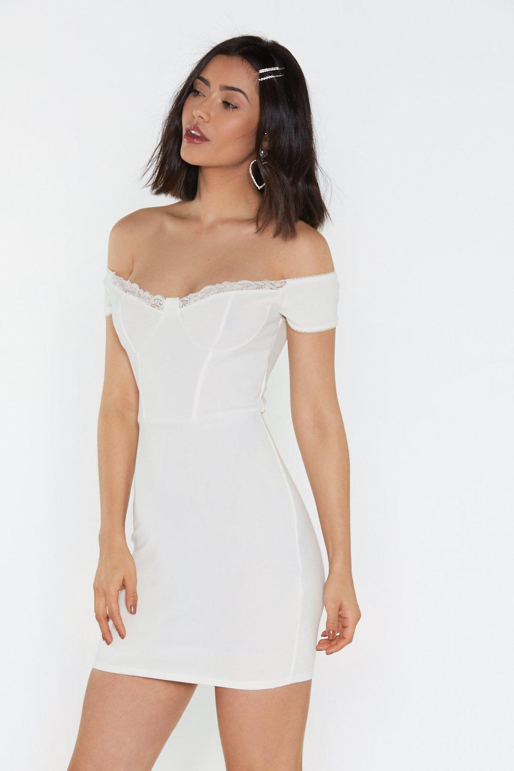 27f52cf5718a Good Riddance Off-the-Shoulder Bodycon Dress | Shop Clothes at Nasty ...