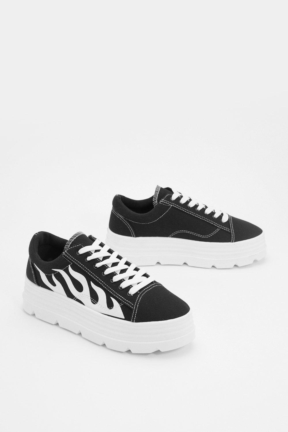 1b925ab1 The Heat is On Platform Sneakers | Shop Clothes at Nasty Gal!