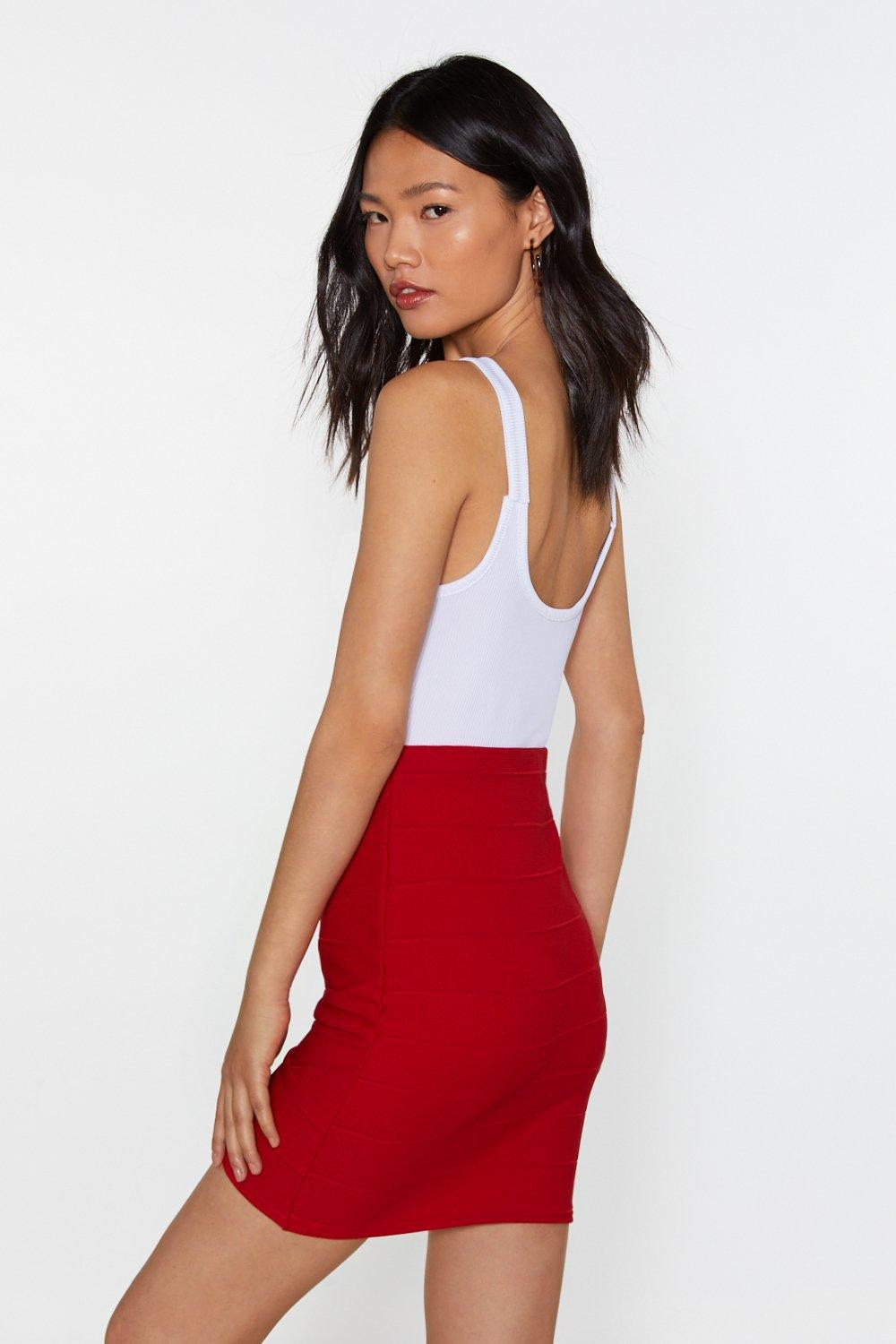 210f6b4550 Bandage Together Wrap Mini Skirt | Shop Clothes at Nasty Gal!