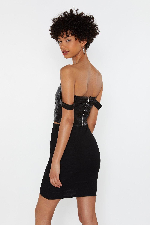 210f6b4550 Bandage Together Wrap Mini Skirt   Shop Clothes at Nasty Gal!