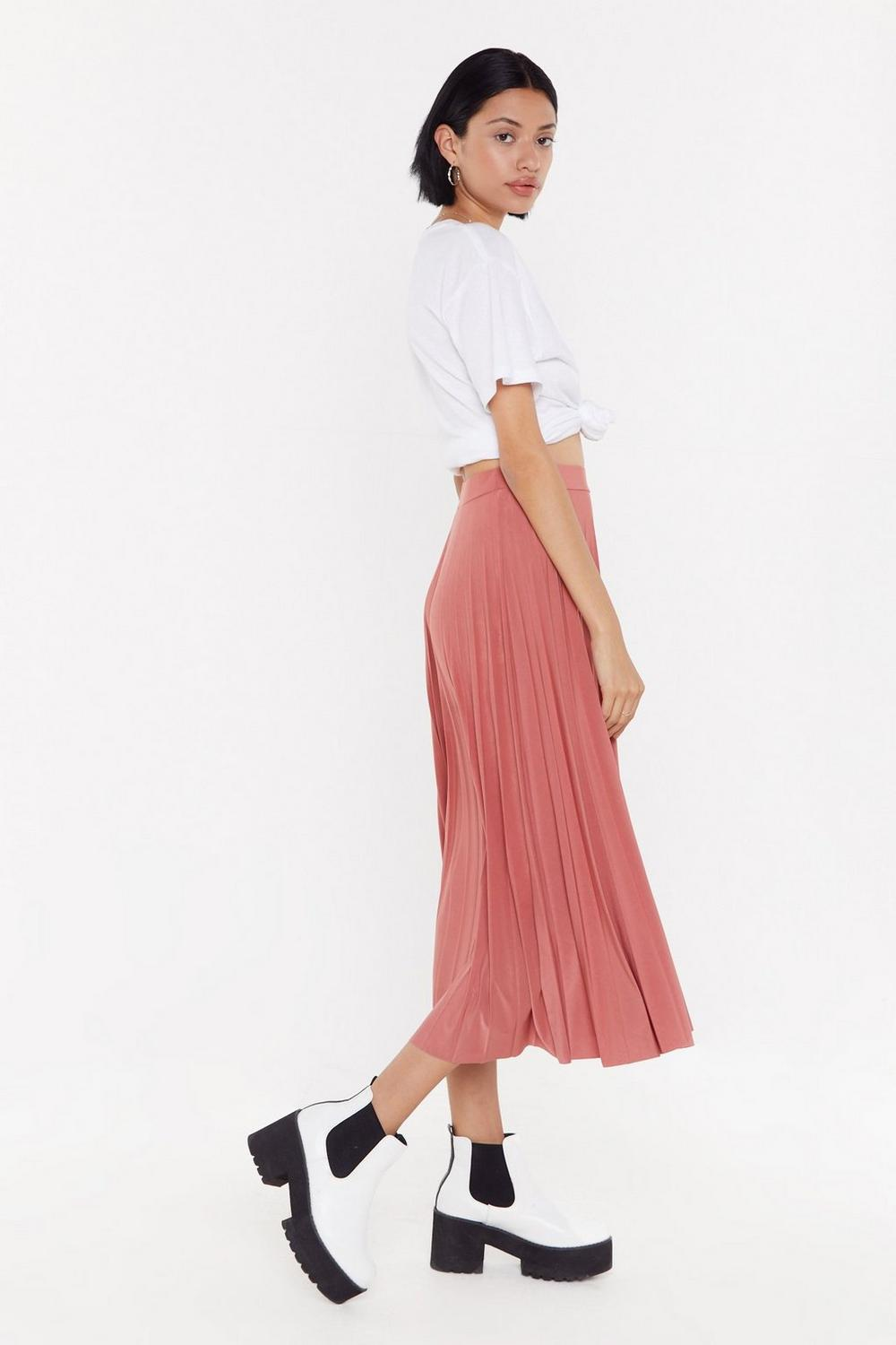 1a1228989 MS Pleated Midi Skirt   Shop Clothes at Nasty Gal!