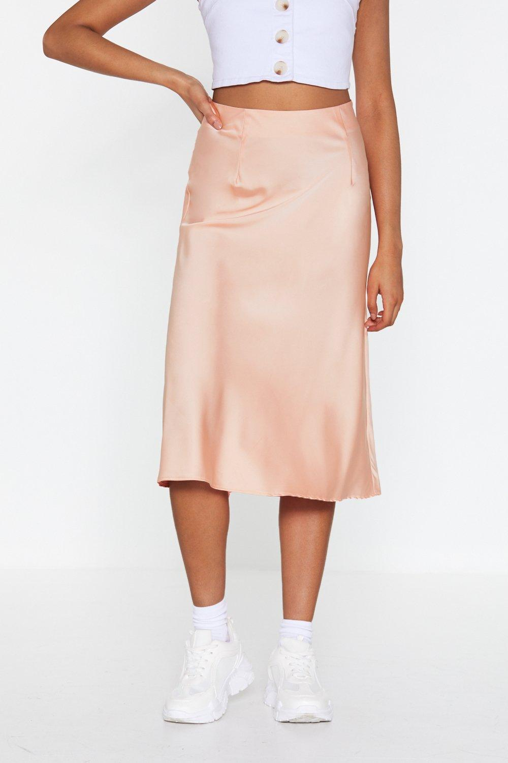 38139b25a Just My Type Satin Midi Skirt | Shop Clothes at Nasty Gal!