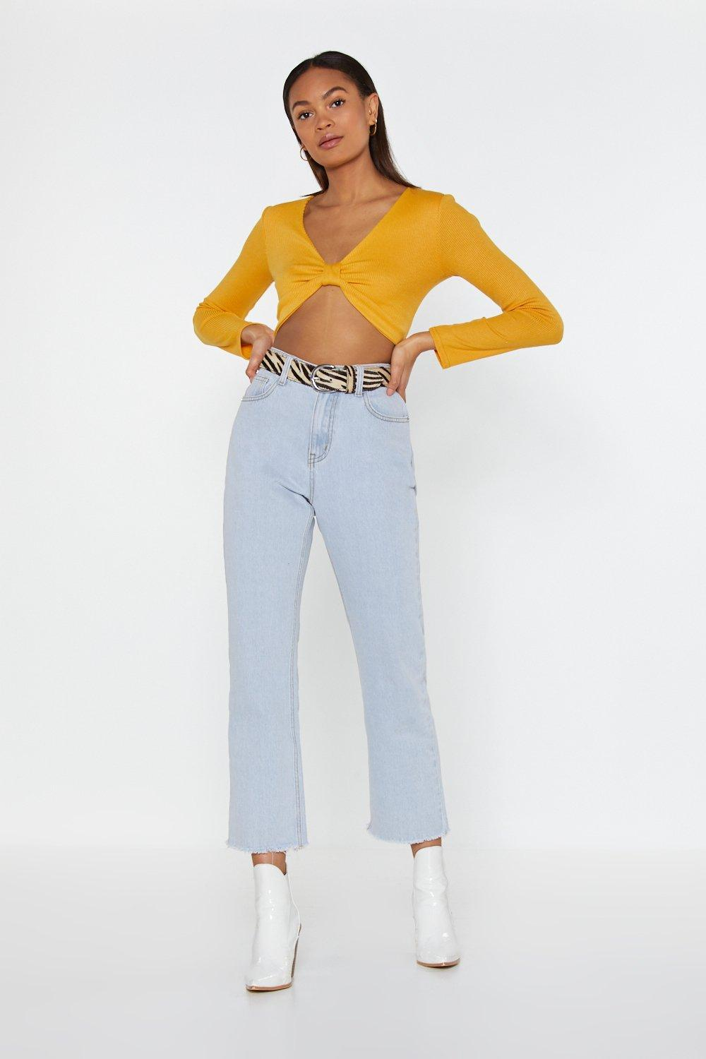 a16128fdf60 What's Knot to Love Ribbed Crop Top | Shop Clothes at Nasty Gal!
