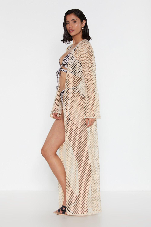 874cda0762 Fishnet Beach Maxi Kimono | Shop Clothes at Nasty Gal!