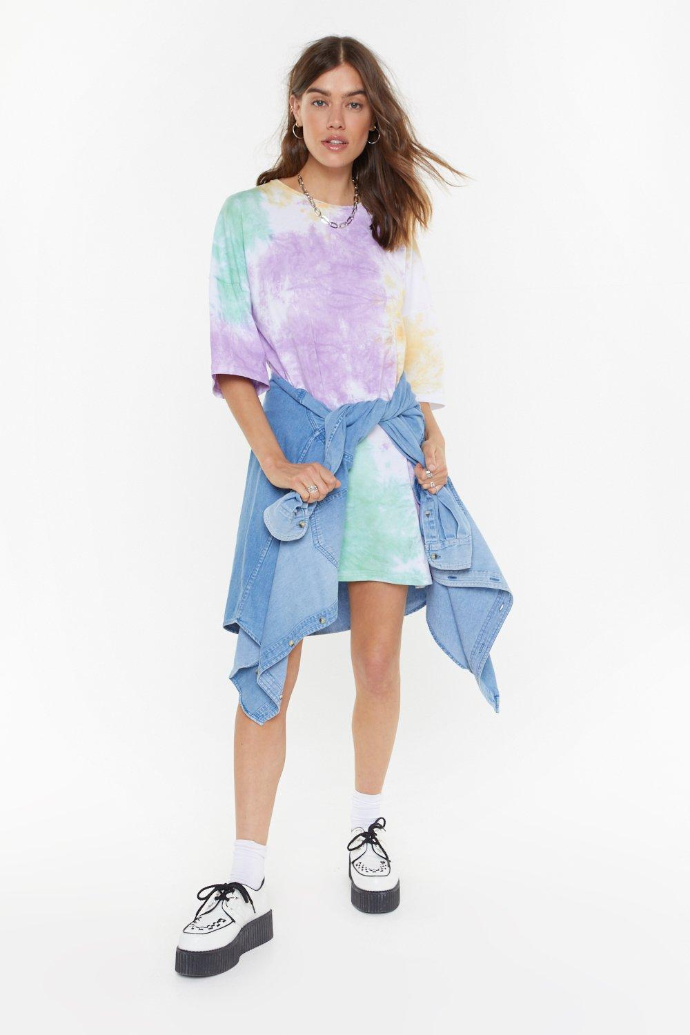 t shirt dress nasty gal