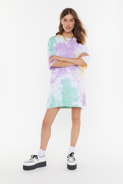28d06911 Tie Dye Oversize T-Shirt Dress | Shop Clothes at Nasty Gal!
