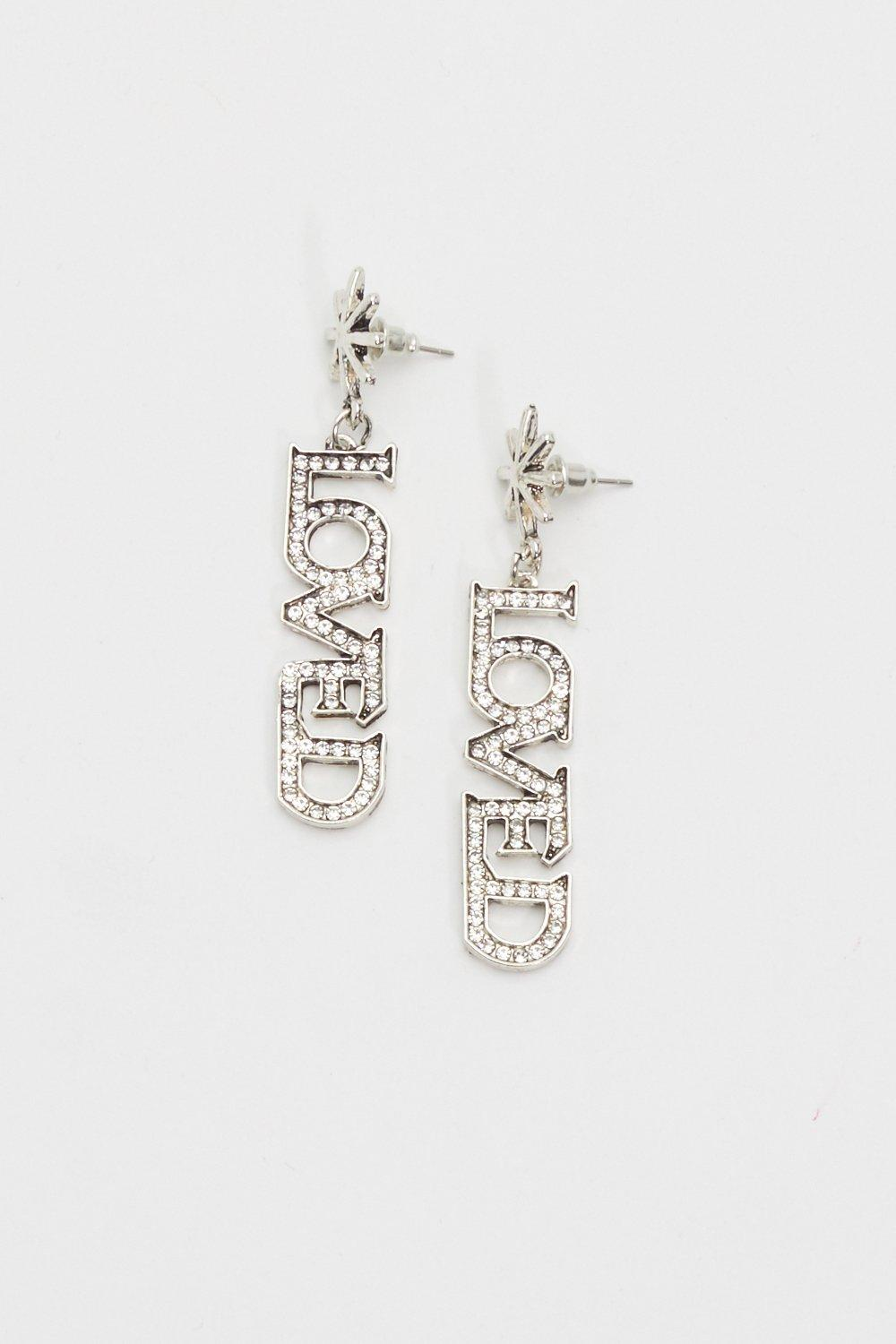 e9d866303 Loved By All Diamante Drop Earrings | Shop Clothes at Nasty Gal!