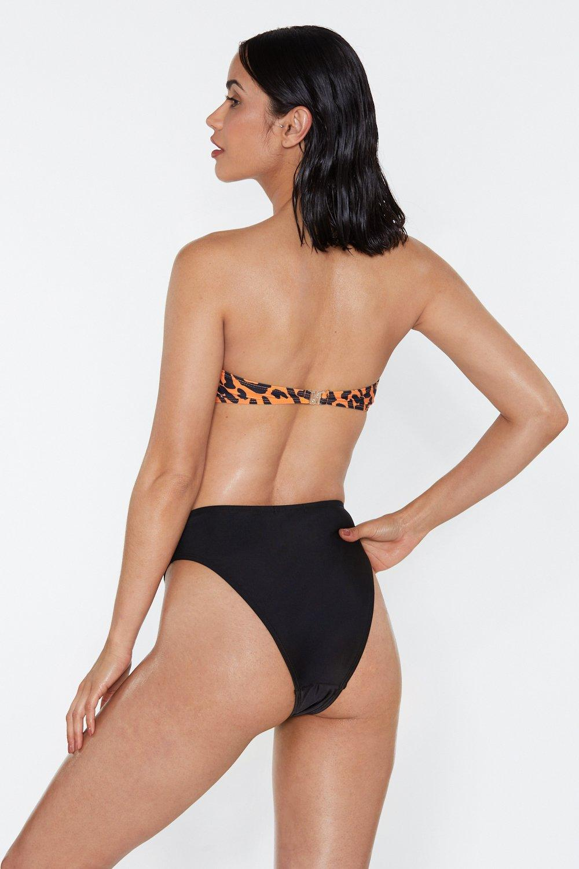 6d4834648b Resting Beach Face High-Leg Bikini Bottoms | Shop Clothes at Nasty Gal!