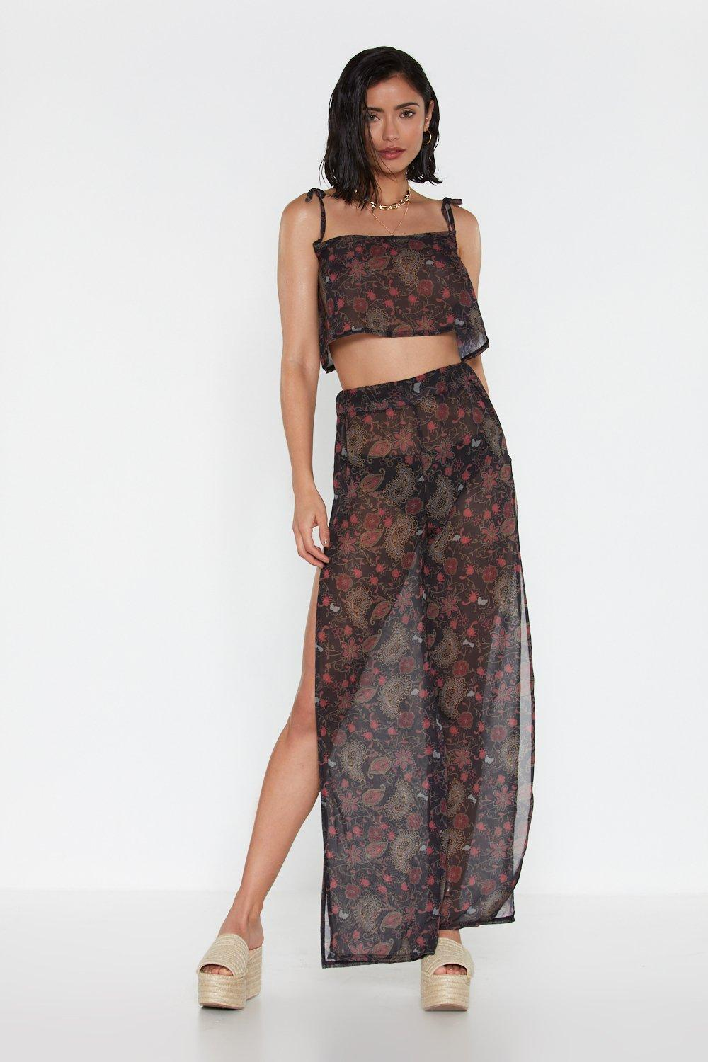 be3f419d5bd5e Paisley the Consequences Cover-Up Pants | Shop Clothes at Nasty Gal!