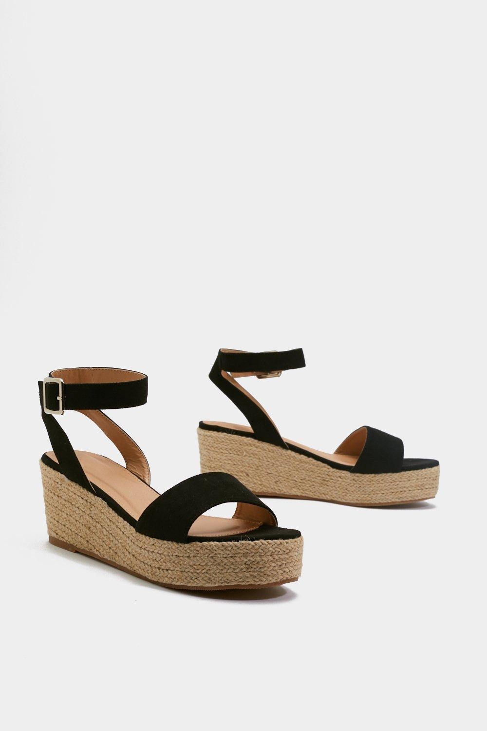 5bb23769953 Espadrille There Be Sun Wedge Sandals | Shop Clothes at Nasty Gal!