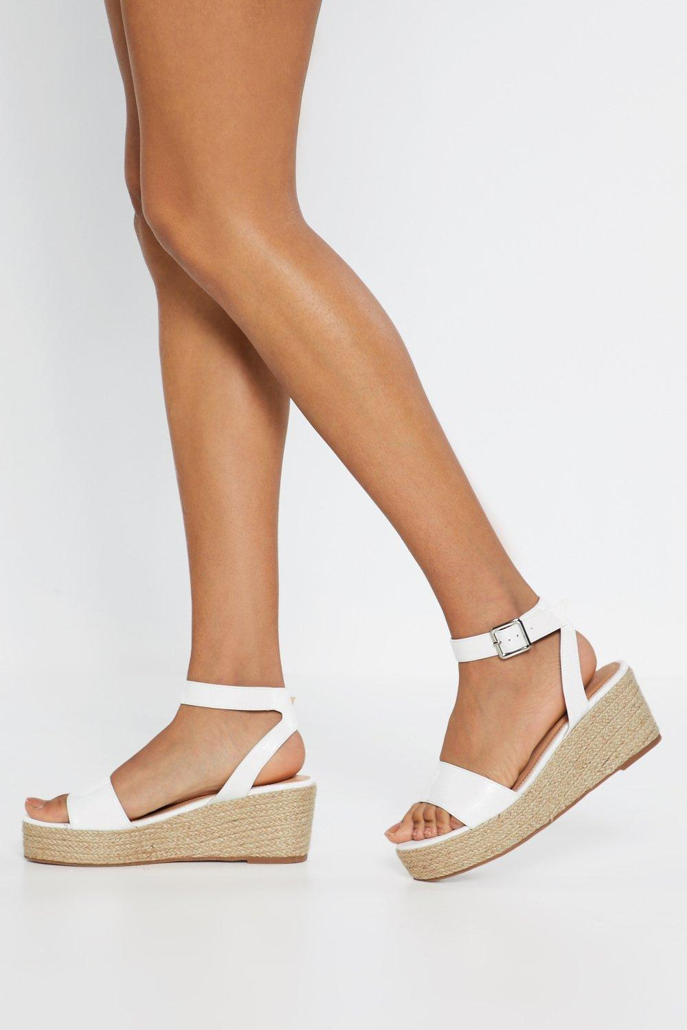 f554278bc234a Espadrille There Be Sun Wedge Sandals | Shop Clothes at Nasty Gal!