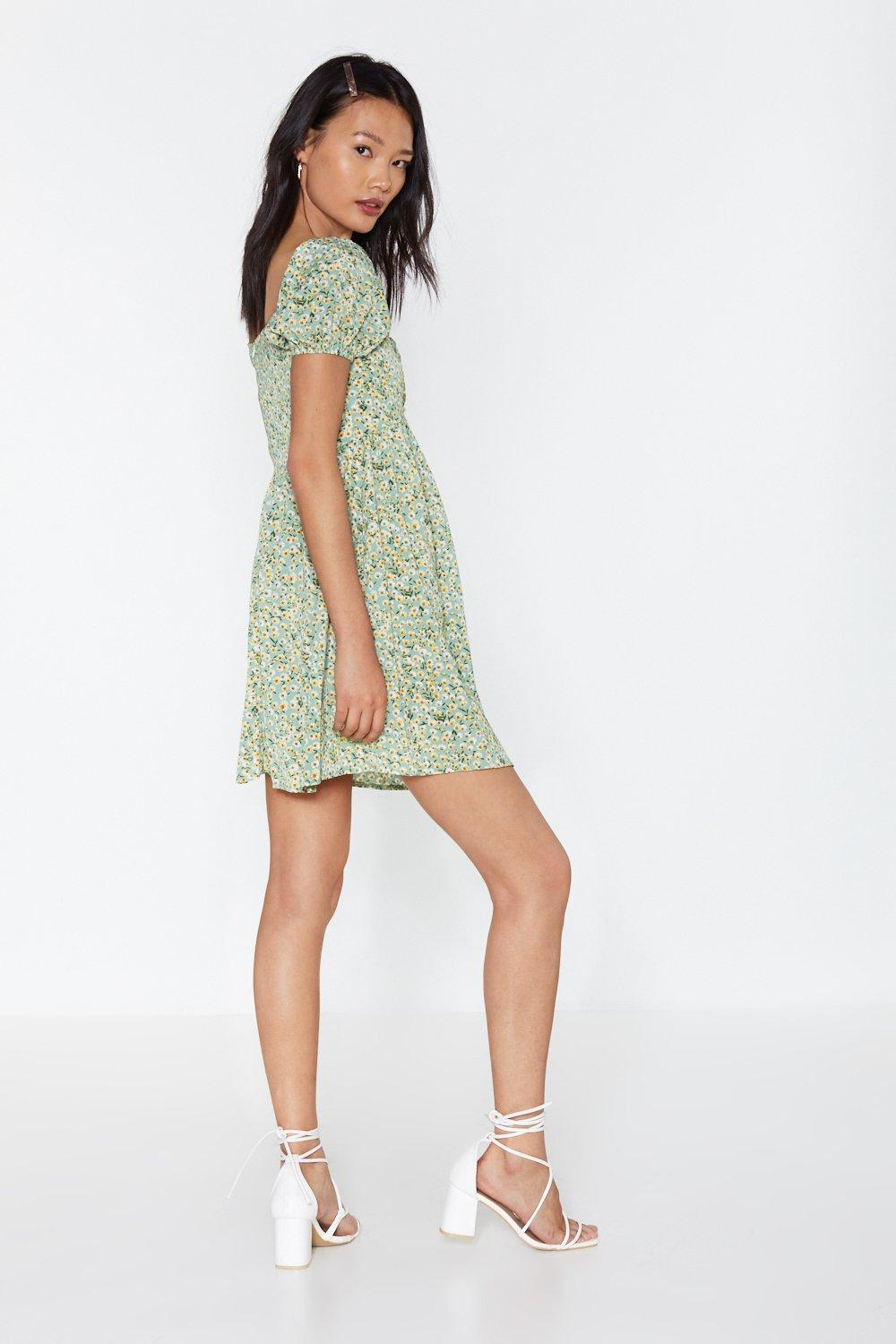 017a04dcc09 Where Love Grows Floral Puff Sleeve Dress | Shop Clothes at Nasty Gal!