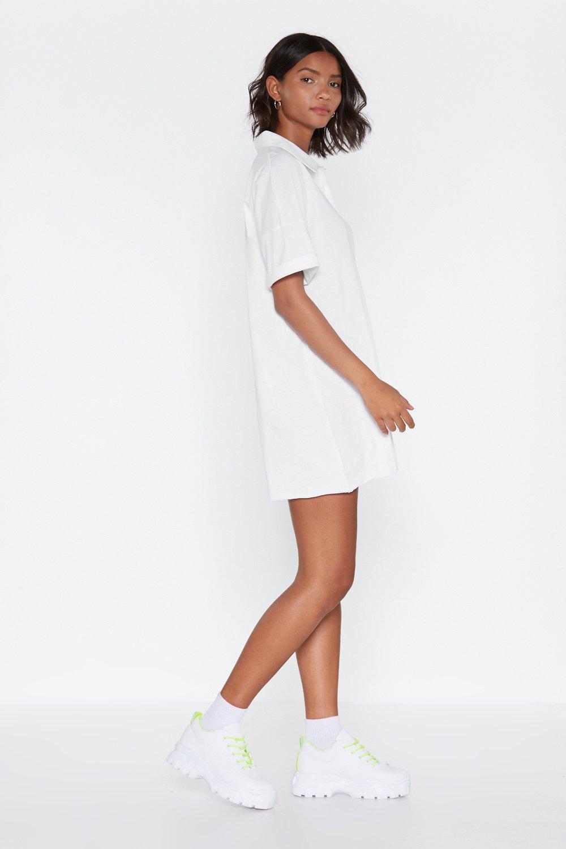 9a5d4db57ba6 Goin' Polo Shirt Dress | Shop Clothes at Nasty Gal!