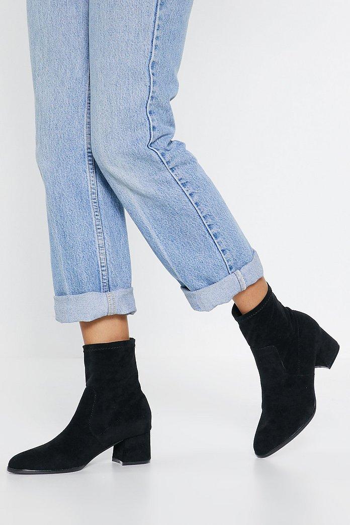 Bottes Gal chaussettes à ImmiShop talons at Nasty daim Clothes en petits vmw80Nn