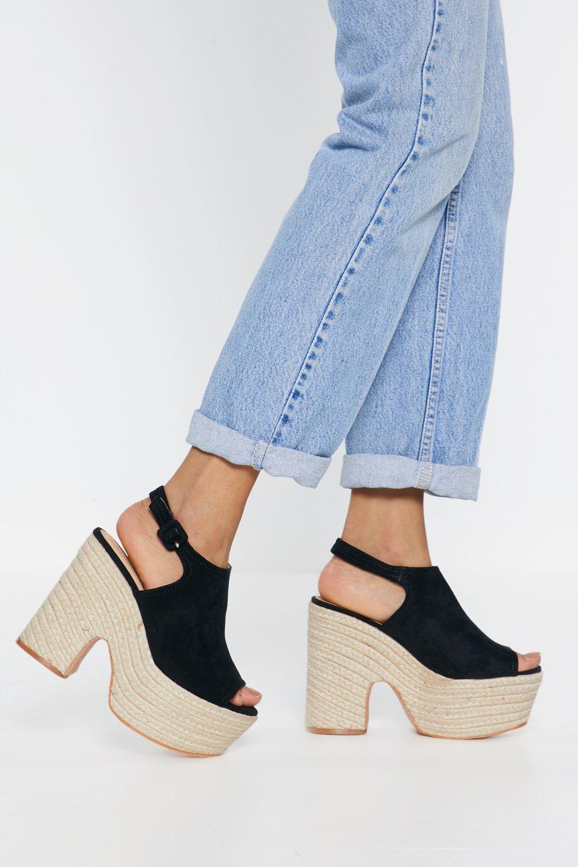 790329ae78c70 Rise Above Espadrille Platform Sandals | Shop Clothes at Nasty Gal!
