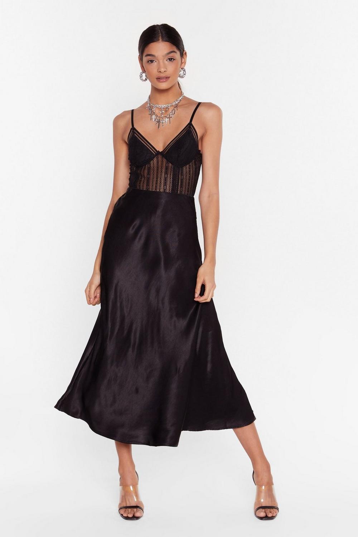cc52640207 Sleek at the Knees Satin Maxi Skirt | Shop Clothes at Nasty Gal!