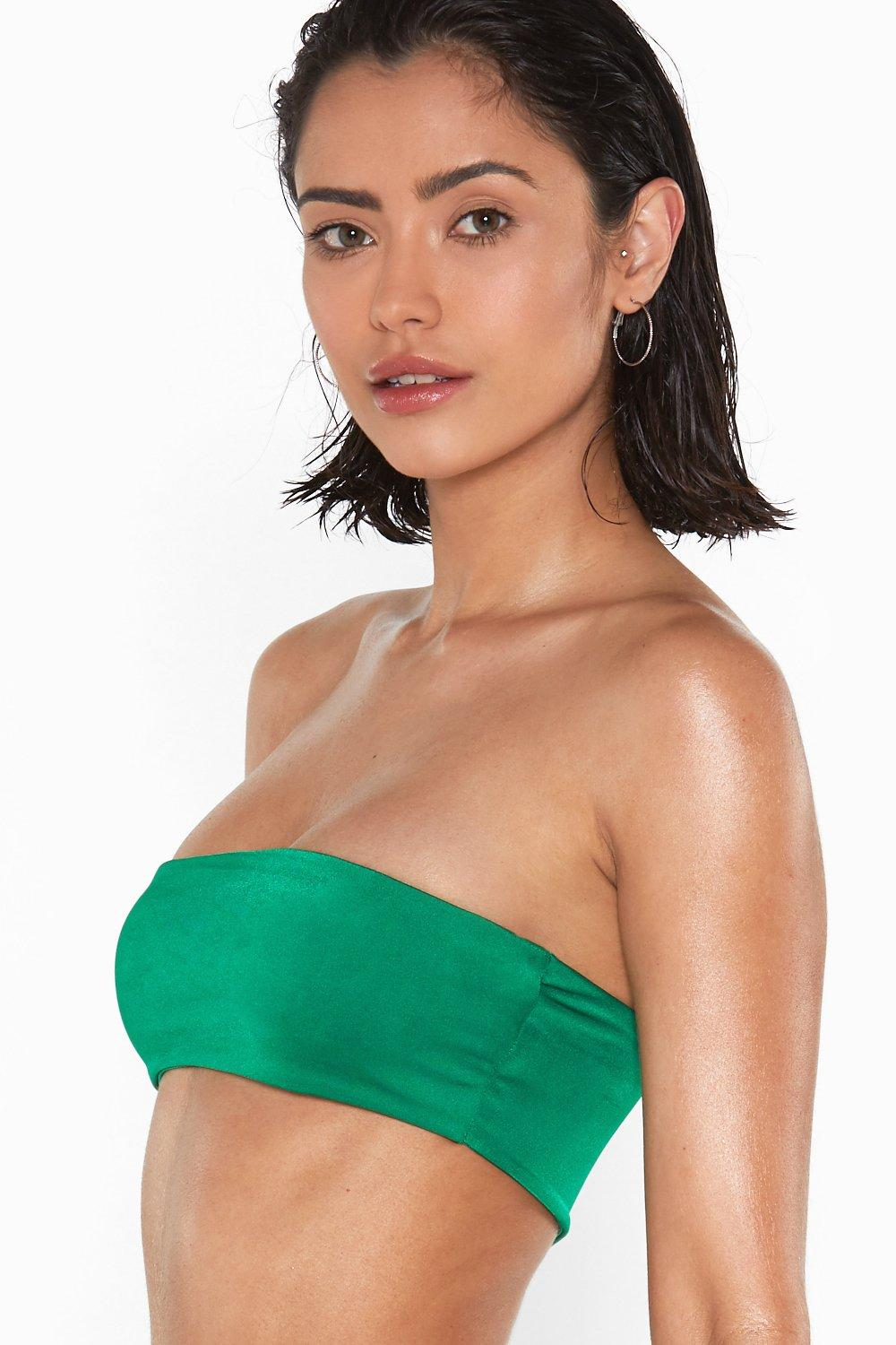 51016d61fffea The Grass is Always Greener Bandeau Bikini Top | Shop Clothes at ...