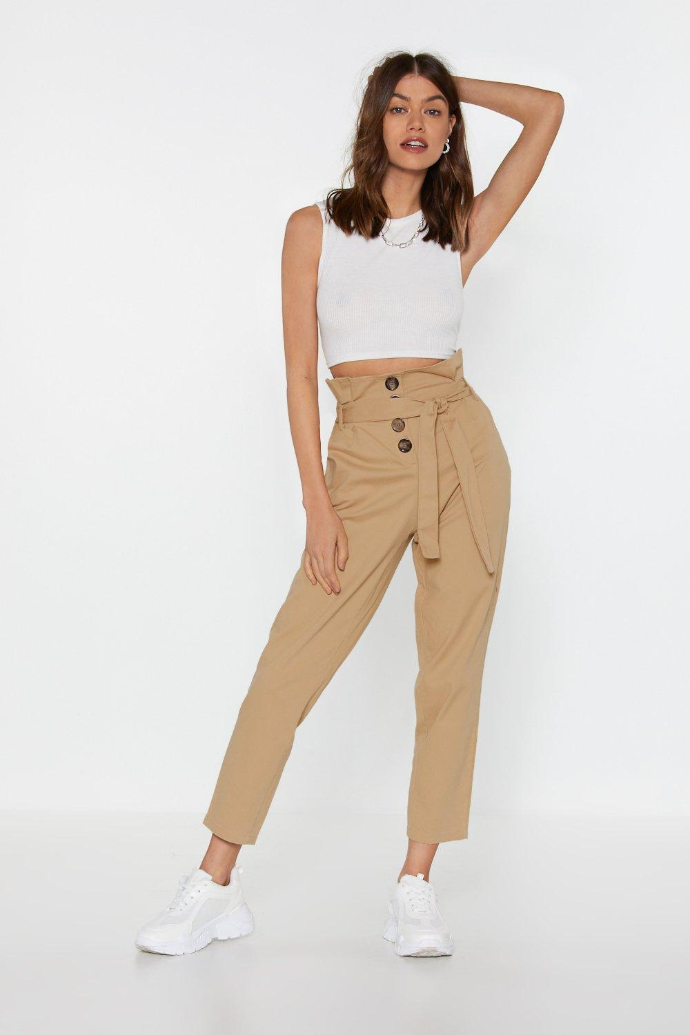 5050230f98c23 Button In Paperbag Pants | Shop Clothes at Nasty Gal!