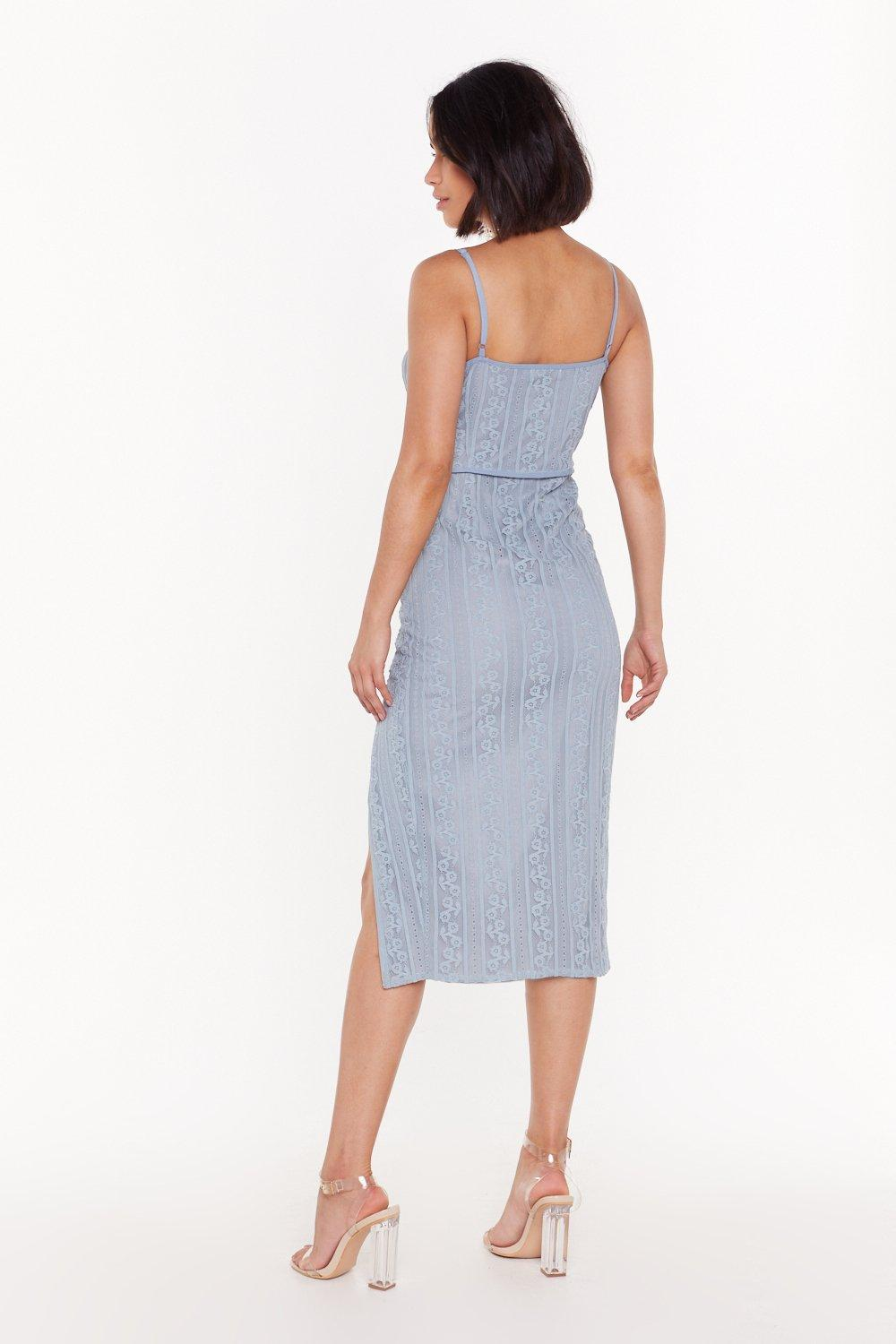 a2f2cfd8b693 Let's Lace It Strappy Midi Dress | Shop Clothes at Nasty Gal!