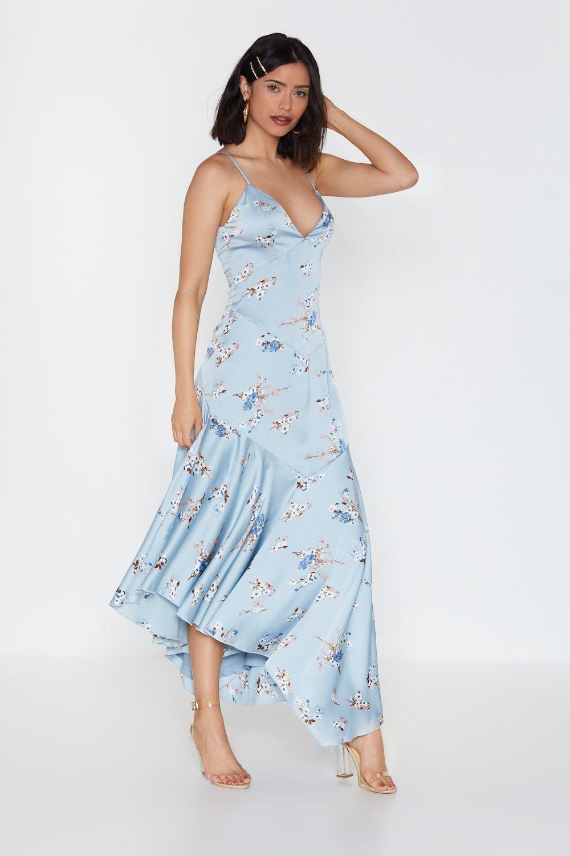 67533cd433 Petal Rebel Floral Maxi Dress | Shop Clothes at Nasty Gal!