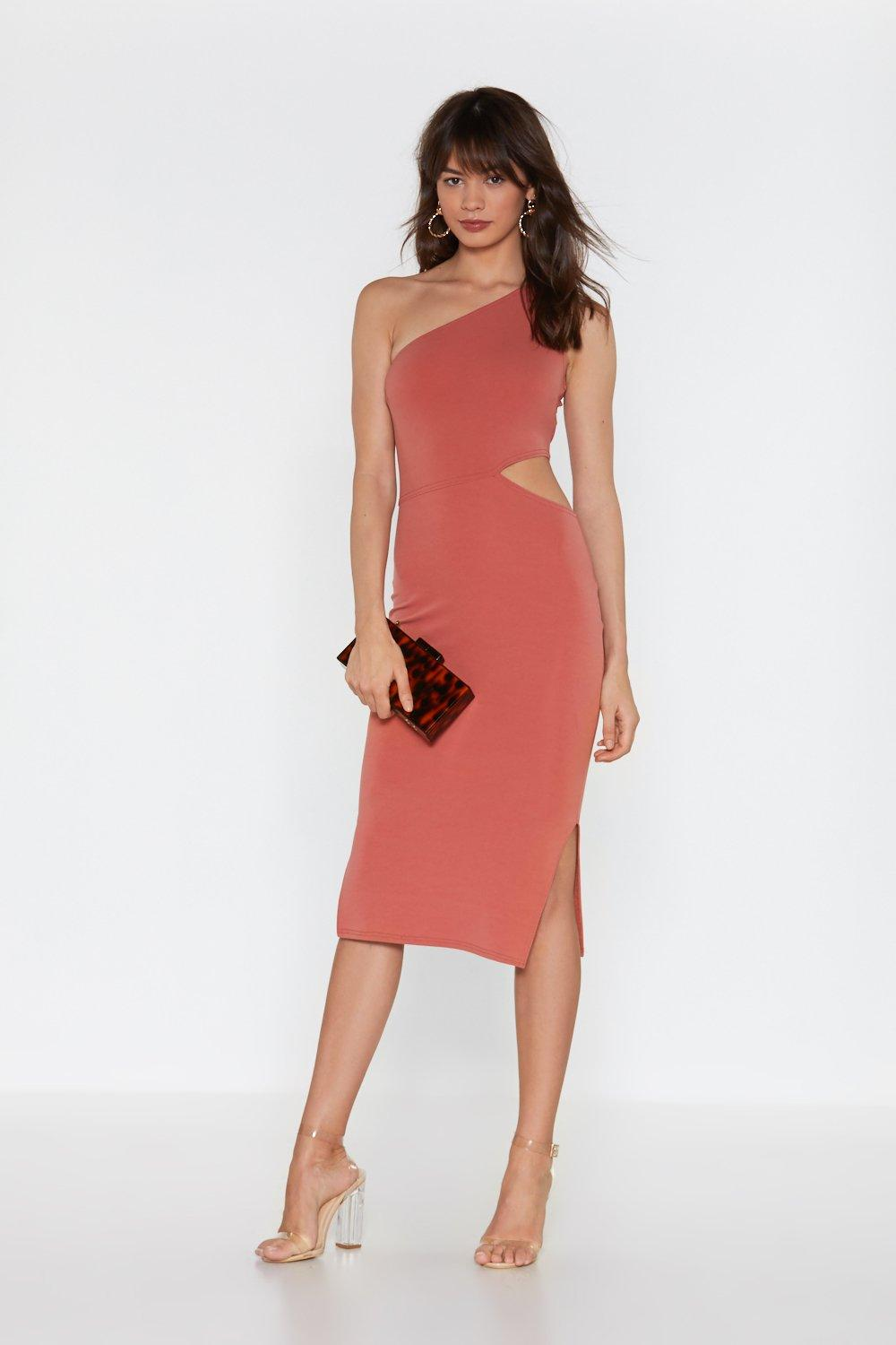 5bc0d36064a6 Back in the Game Cut-Out Bodycon Midi Dress   Shop Clothes at Nasty Gal!