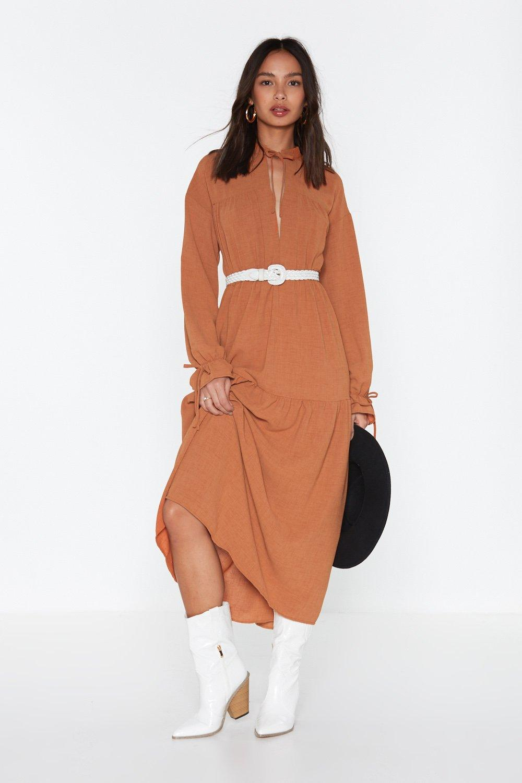 08ab8ee8d8af3 Long Sleeved Boho Maxi Dress | Shop Clothes at Nasty Gal!