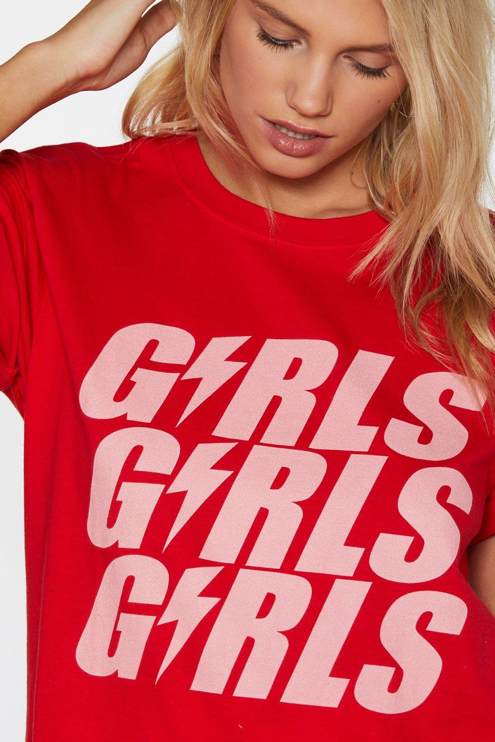 aa21a909 Girls Girls Girls Tee | Shop Clothes at Nasty Gal!